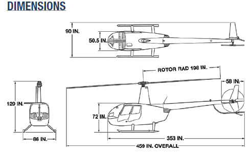 Clipper II Dimensions