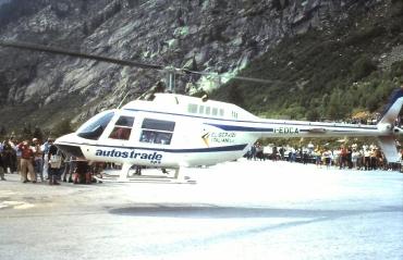 La storia del volo GIANA HELICOPTER-18