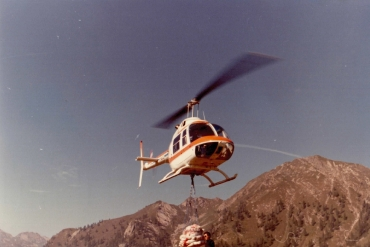 La storia del volo GIANA HELICOPTER-19