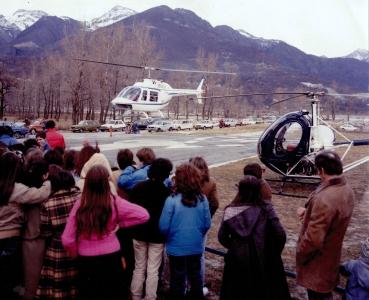 La storia del volo GIANA HELICOPTER-1