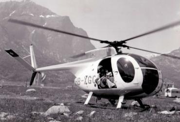 La storia del volo GIANA HELICOPTER-4