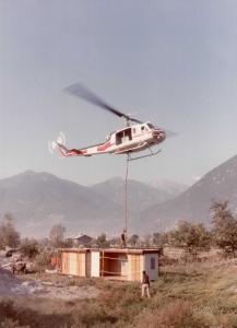 La storia del volo GIANA HELICOPTER-5