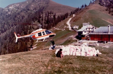 La storia del volo GIANA HELICOPTER-7