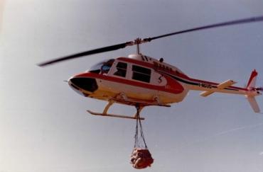La storia del volo GIANA HELICOPTER-8